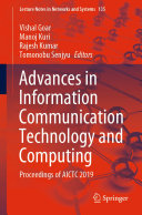 Advances in Information Communication Technology and Computing