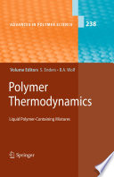 Polymer Thermodynamics Book