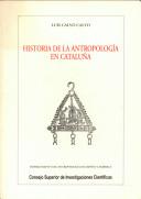 Historia de la antropología en Cataluña