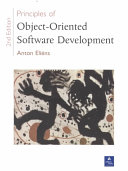 Principles of Object oriented Software Development