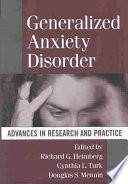 Generalized Anxiety Disorder Book PDF