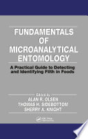 Fundamentals of Microanalytical Entomology