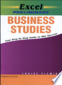Cover of Excel Preliminary Business Studies
