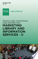 Marketing Library And Information Services Ii
