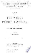 Key to The whole French language