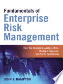 Fundamentals of Enterprise Risk Management Book