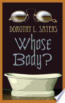 Whose Body? Dorothy L. Sayers Cover
