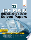 32 Jee Main Online 2019 2020 Solved Papers 4th Edition