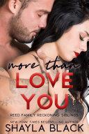 More Than Love You Pdf/ePub eBook