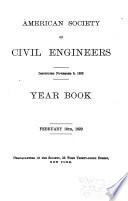 Year Book American Society Of Civil Engineers