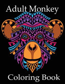 Adult Monkey Coloring Book