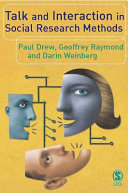Talk and Interaction in Social Research Methods [Pdf/ePub] eBook