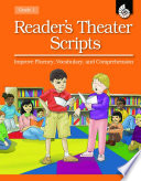 Reader S Theater Scripts Improve Fluency Vocabulary And Comprehension Grade 1 Book With Transparencies