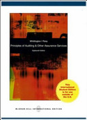 Principles of Auditing and Other Assurance Services with Cd Book