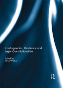 Pdf Contingencies, Resilience and Legal Constitutionalism Telecharger