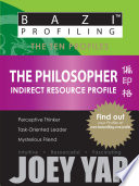 The Ten Profiles - The Philosopher (Indirect Resource Profile)