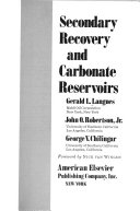 Secondary Recovery and Carbonate Reservoirs