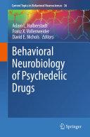 Pdf Behavioral Neurobiology of Psychedelic Drugs Telecharger