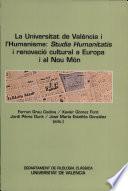 La Universitat de València i l'humanisme