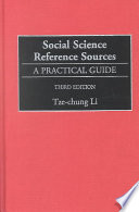 Social Science Reference Sources