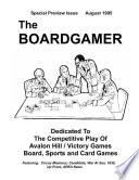 The Boardgamer Volume 1