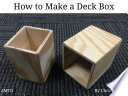 How to Make Magic The Gathering Deck Boxes