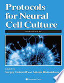 Protocols For Neural Cell Culture