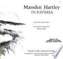 Marsden Hartley in Bavaria
