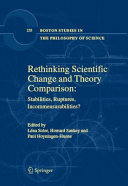 Rethinking Scientific Change and Theory Comparison:: ...