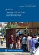 Fluchtmigration aus Syrien