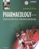 Pharmacology for the Prehospital Professional Book