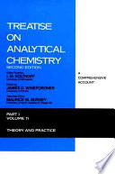 Treatise on Analytical Chemistry, Theory and Practice