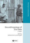 The Anthropology of the State