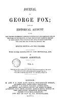 Journal of George Fox, 1