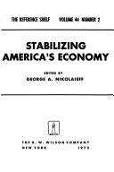 Stabilizing America s Economy Book PDF
