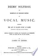 Deems Solfeggi Book PDF