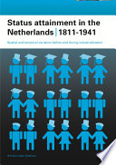 Status Attainment In The Netherlands 1811 1941