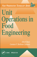 Pdf Unit Operations in Food Engineering Telecharger