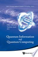 Quantum Information and Quantum Computing