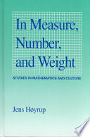 In Measure, Number, and Weight
