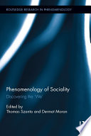 Phenomenology of Sociality