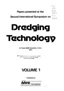 Papers Presented At The Second International Symposium On Dredging Technology At Texas A M University U S A 1977 Book PDF