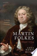 Martin Folkes  1690 1754