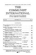 The Communist International
