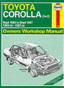 Toyota Corolla (Fwd) 1983-87 Owners' Workshop Manual