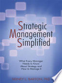 Strategic Management Simplified Book