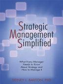 Strategic Management Simplified [Pdf/ePub] eBook