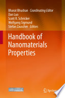 Handbook Of Nanomaterials Properties Book PDF