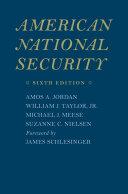 American National Security Pdf/ePub eBook