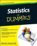 """""""Statistics For Dummies"""" by Deborah J. Rumsey"""